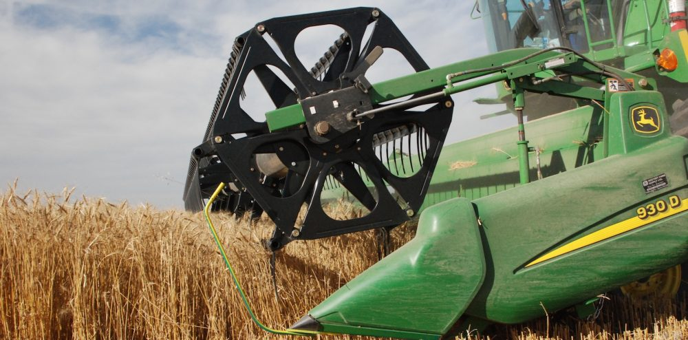 combine wheat header